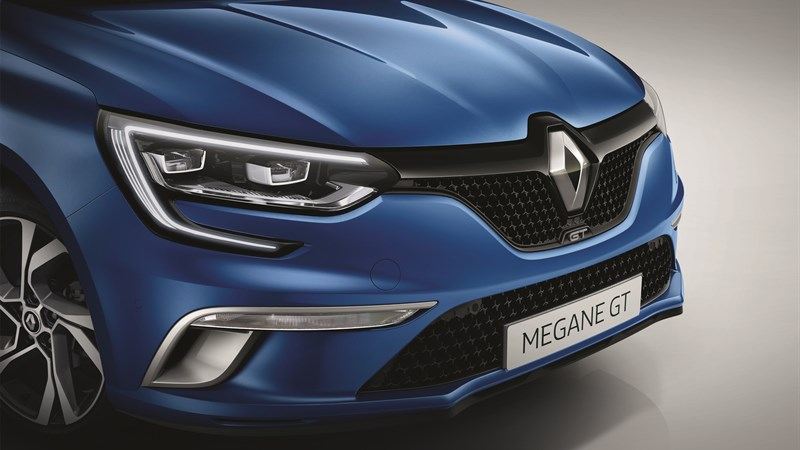 Renault MEGANE GT - close-up of front of vehicle