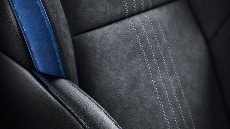 Renault MEGANE GT - close-up of upholstery