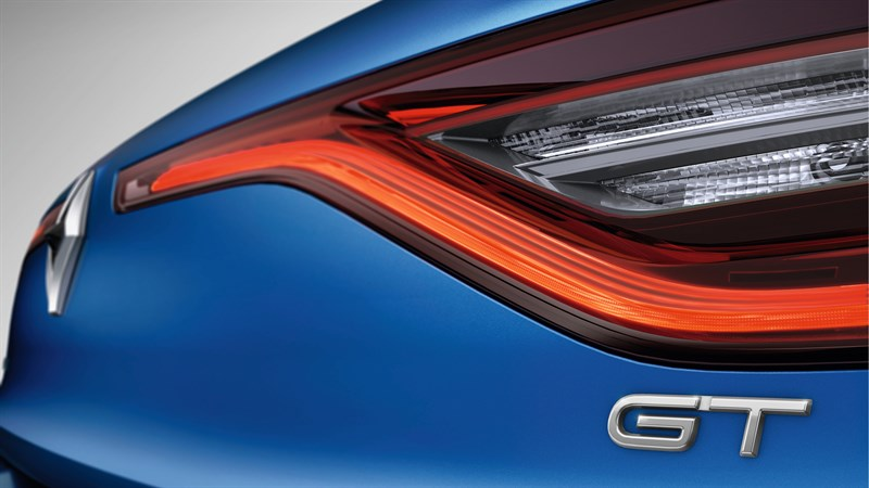 Renault MEGANE GT - close-up of the vehicle's rear lights