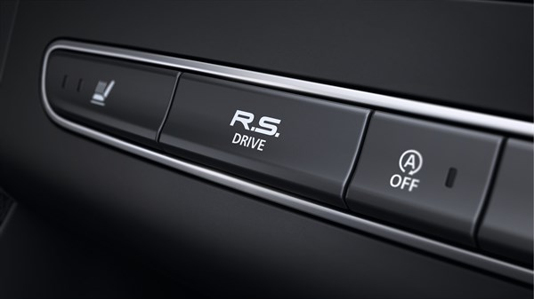 Renault MEGANE - R.S. Drive mode button