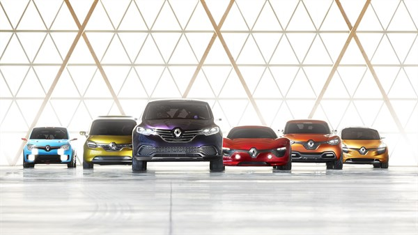 Renault - The concept car range