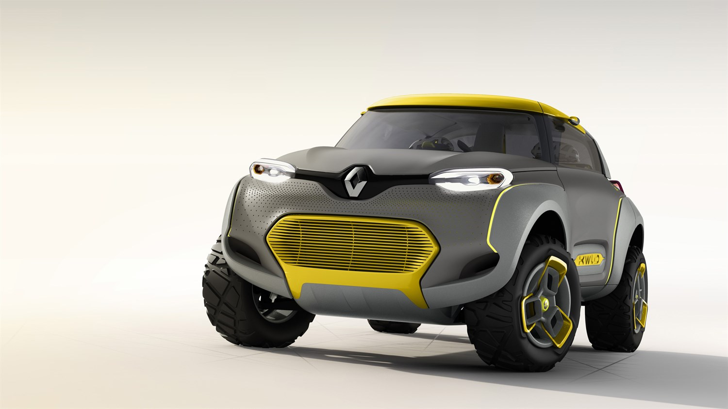 Renault KWID Concept - 3/4 vehicle front