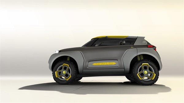 Renault KWID Concept - Profile view