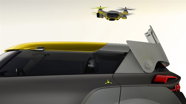 Renault KWID Concept - Flying companion