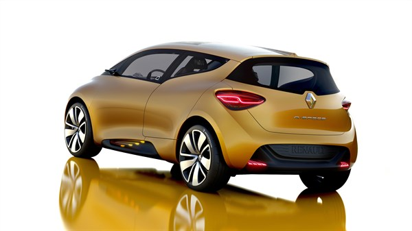 Renault R-SPACE Concept - 3/4 rear view