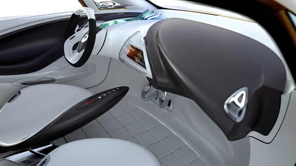 Renault R-SPACE Concept - front cabin